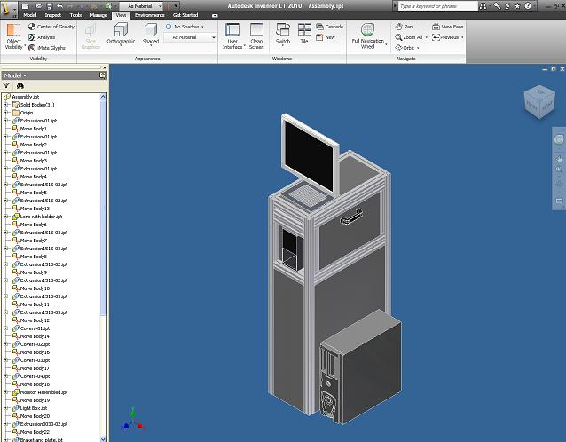 3D modeling for fast, accuarate system design and integration
