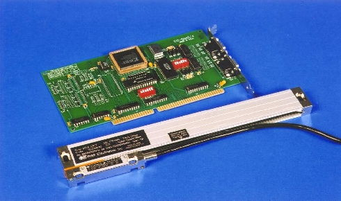 Linear encoders and Quadrature Decoder boards