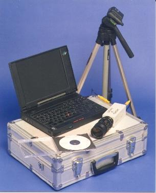 Portable video inspection / mobile visual inspection systems featuring VisionGauge
