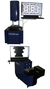VisionGauge Digital Optical Comparators are offered in both horiztonal and vertical configurations, depending on the needs of your part.