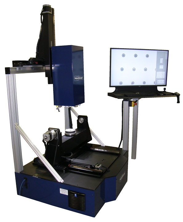 The 700 Series VisionGauge® Digital Optical Comparator 5-axis inspection and measurement system is the ideal solution for the automatic inspection of parts with complex geometries.