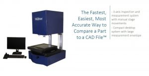 The 400 Series VisionGauge Digital Optical Comparator is a state-of-the-art inspection and measurement system in a compact desktop format with a large measurement envelope.