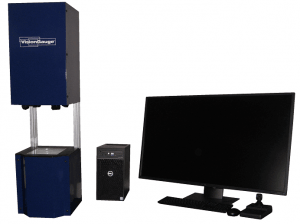 VisionGauge® Digital Optical Comparator 300 Series / Field-of-View Systems 5x configuration.