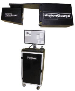 The VisionGauge StandAlone Inspection and Measurement system.