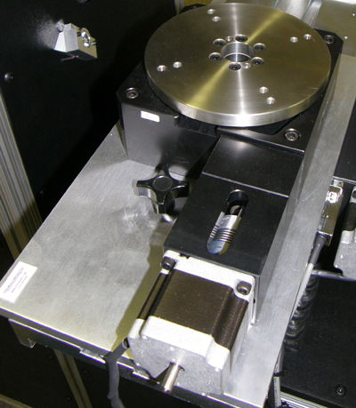 VisionGauge® Digital Optical Comparator rotary stage/axis