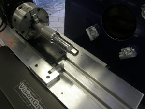 Rotary stage and workholding for turnkey runout measurement application